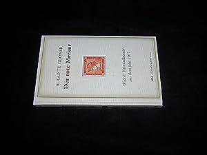 Der rote Merkur. Kriminalroman [Deckeltitel: Der rote: Groner, Auguste.