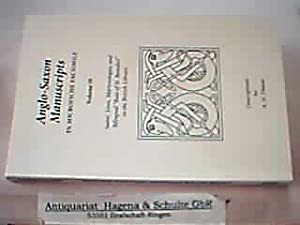 Anglo-Saxon Manuscripts in Microfiche Facsimile; Volume 19: