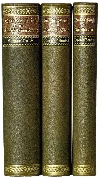 Briefe Von Goethe : Goethes briefe an charlotte von goethe zvab