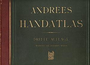 in 99 Haupt- und 82 Nebenkarten.: Andrees Allgemeiner Handatlas