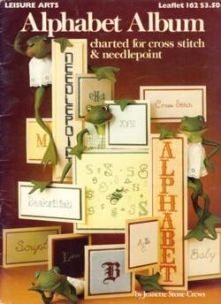 Alphabet Album Leaflet 162: Jeanette Stone Crews