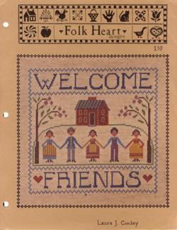 Welcome Friends #005: Laura J Conley