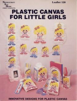 Plastic Canvas for Little Girls Leaflet 120