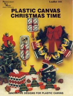 Plastic Canvas Christmas Time Leaflet 144