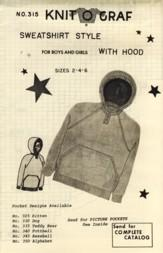 Sweatshirt Style with Hood for Boys and: Karen Fitch Mott