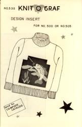 Fishing Design Insert for No. 500 or: Karen Fitch Mott