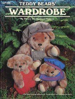 Teddy Bears' Wardrobe GP-488: Nancy Southerland-Holmes