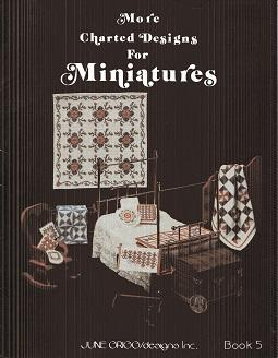 More Charted Designs for Miniatures Book 5: June Griggs
