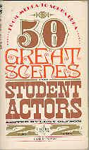 50 Great Scenes for Student Actors: Lewy Olfson