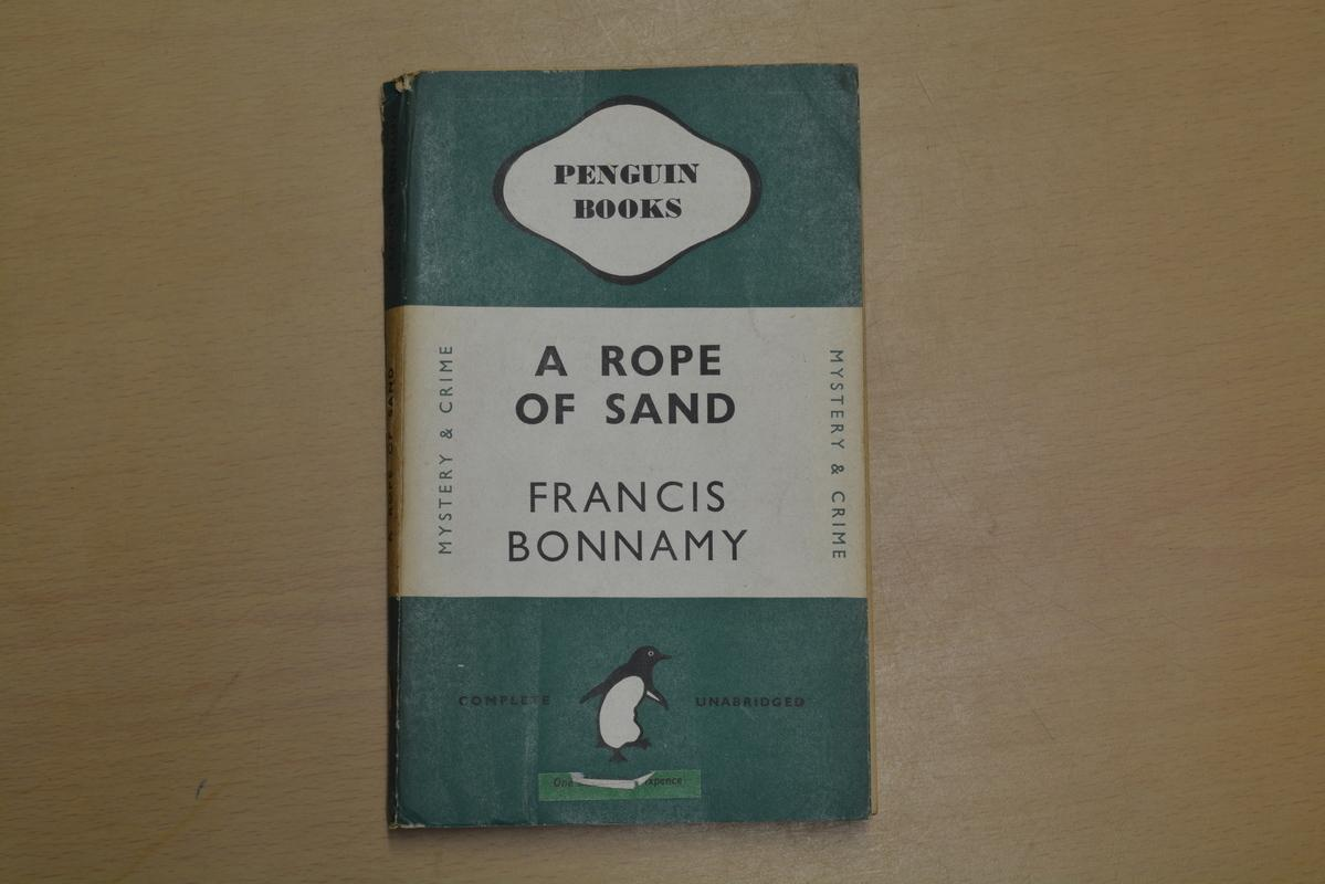 A Rope of Sand Francis Bonnamy