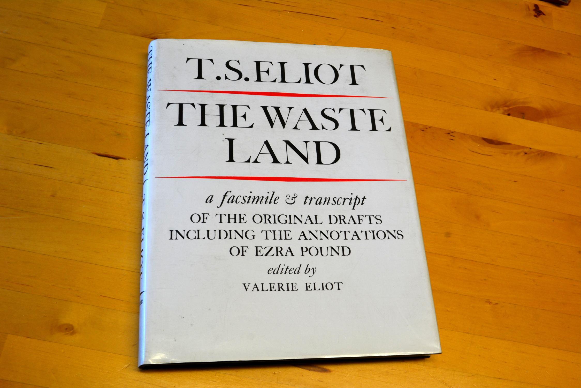 2fa2e6627fa8 The Waste Land by Eliot