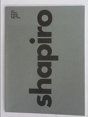 Joel Shapiro Skulptur & Grafik 1985 -