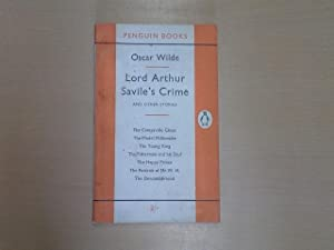 Lord Arthur Savile's Crime, and Other Stories: Oscar Wilde