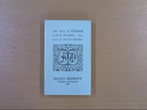 The Story of Oxford: Mediaeval Towns Series: Cecil Headlam