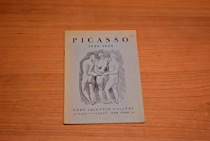 pablo picasso 1920 1925 sept oct 1952 introductory text by will grohmann