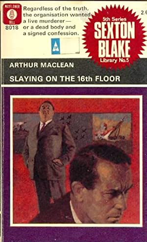 Slaying on the 16th Floor. Sexton Blake Library 5th Series No. 5