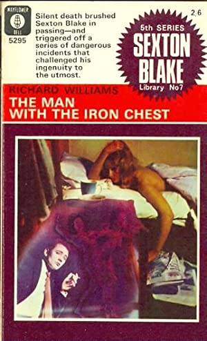 The Man with the Iron Chest. Sexton Blake Library 5th Series No. 7