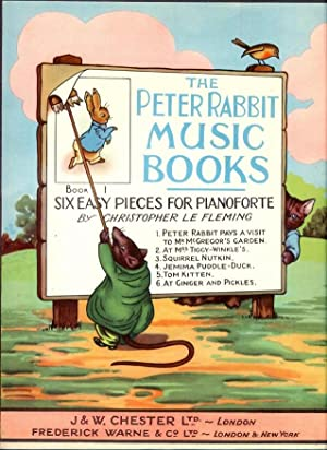 The Peter Rabbit Music Books Book 1, Six Easy Pieces for Pianoforte