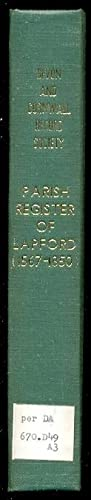 The Register of Baptisms, Marriages & Burials of the Parish of Lapford, Devon. A.D. 1567-1850