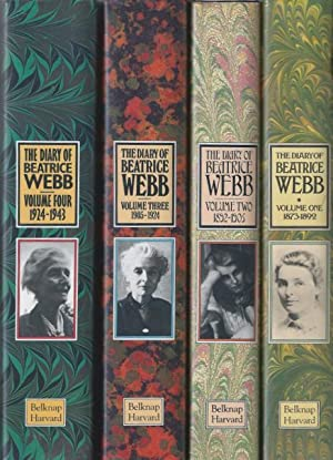 The Diary of Beatrice Webb 4 Vol Set. Vol One, 1873-1892, 'Glitter Around and Darkness Within'; V...