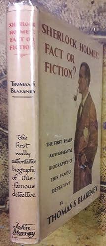SHERLOCK HOLMES : FACT OR FICTION ?: Blakeney (T.S.) ;-