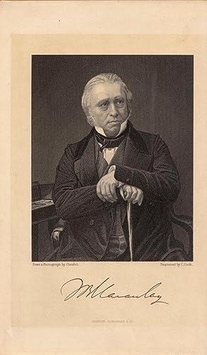 Sieben Werke. Seven works. 15 Bände /: Macaulay, Thomas Babington