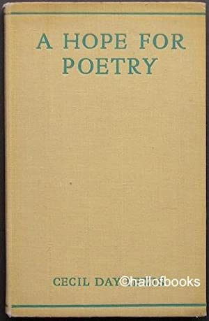 A Hope For Poetry
