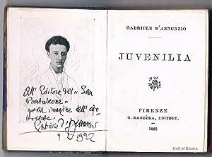 Juvenilia: Gabriele D' AnnUnzio