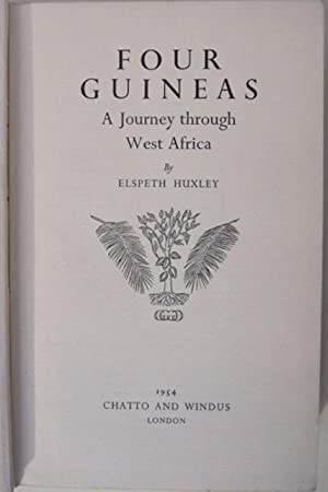 Four Guineas: A Journey Through West Africa