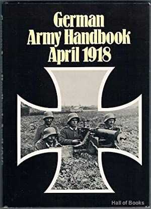 German Army Handbook April 1918