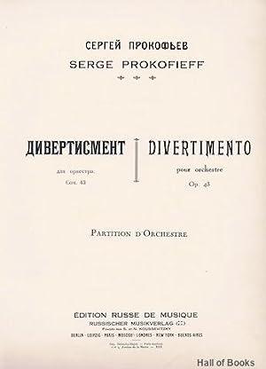 Divertimento Pour Orchestre Op. 43: Partition D'Orchestre: Serge Prokofieff
