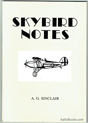 Skybird Notes: A. G. Sinclair