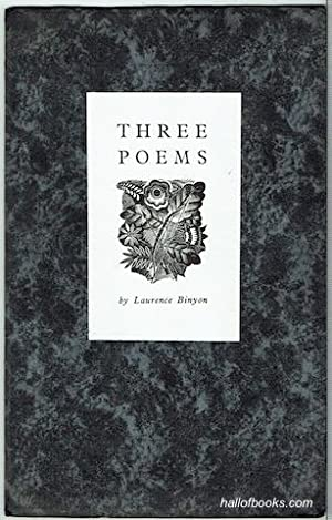 Three Poems (Signed, Limited Edition)