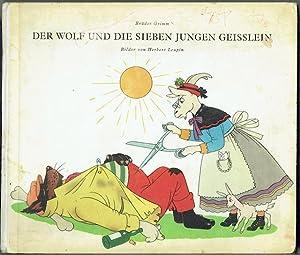 der wolf und die sieben jungen geissleinbruder grimm; j. k. thiele editor: globi-verlag