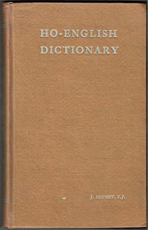 Ho-English Dictionary