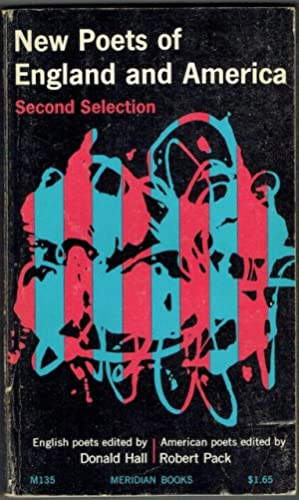 New Poets Of England and America: Second Selection (Signed)