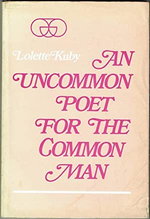 An Uncommon Poet For The Common Man: A Study Of Philip Larkinâ  s Poetry (Signed by Donald Davie)