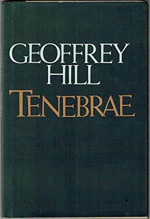 Tenebrae (Signed and inscribed by Harold Bloom to Red - Robert Penn Warren)