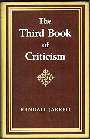 The Third Book Of Criticism