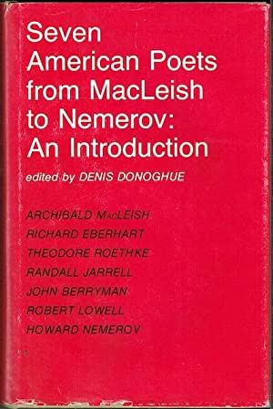 Seven American Poets From MacLeish To Nemerov (Signed by Richard Eberhart)