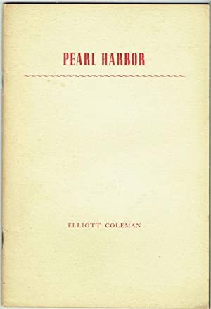 Pearl Harbor: A Memoir In Verse