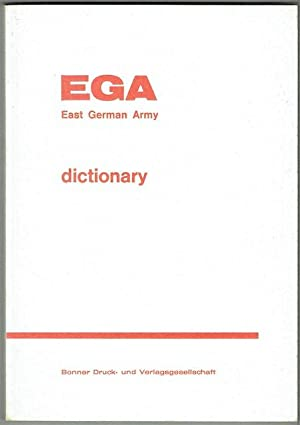 EGA: East German Army Dictionary