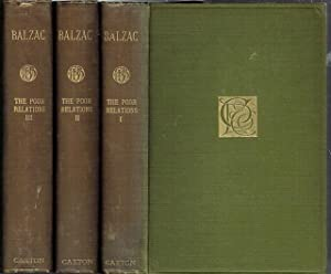 The Poor Relations: Volume I, Volume II: Honore de Balzac