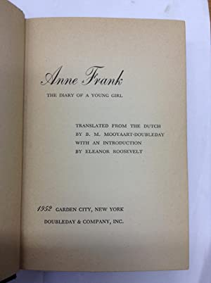 Anne Frank The Diary of a Young Girl: Frank, Anne