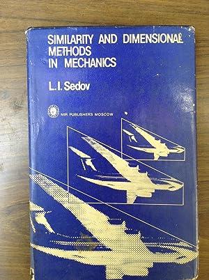 Similarity and Dimensional Methods in Mechanics: Sedov, L.I.
