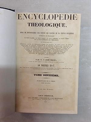 Encyclopedie Theologique, Dictionnaire Historique, Archeologique, Philologique, Chronologique,: Calmet, Reverend Pere