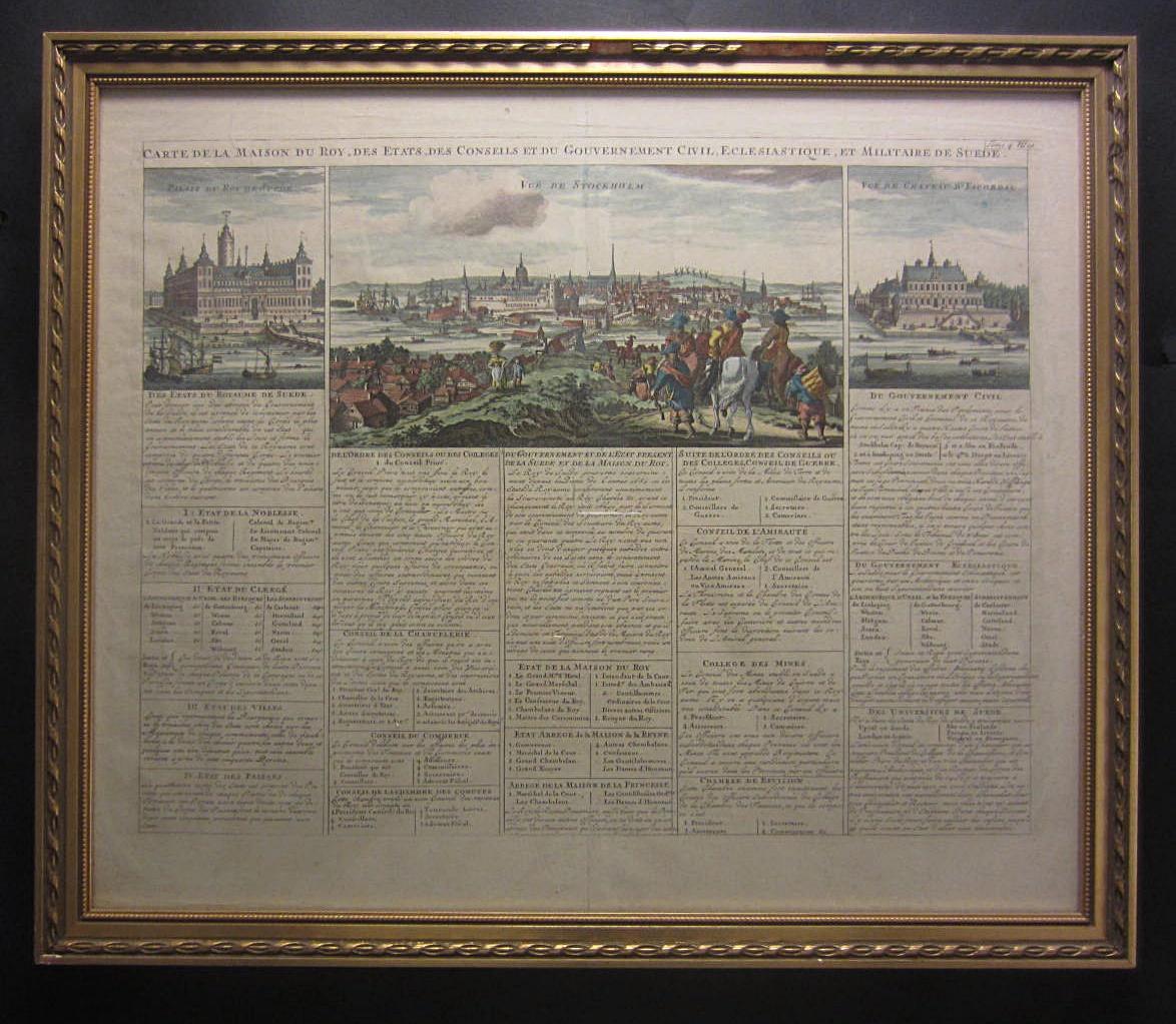 La Maison De La Suede carte de la maison du roy, des etats, des