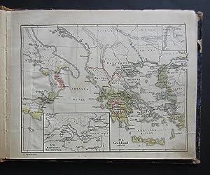 Historisk atlas till skolornas tjenst.: Erslev, Kr[ristian]
