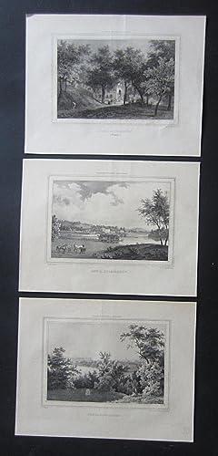 3 plates depicting] Kongl. Djurgården.: Plates] Billmark, C.