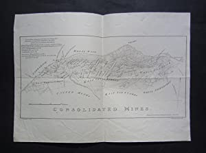 Consolidated mines. Reduced from the large map by R. Thomas: A: D. 1821.